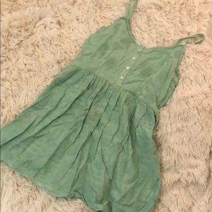 e4b0b5fba6 Mint crochet detailed dress
